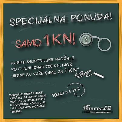 Ghetaldus optika misli na vas!