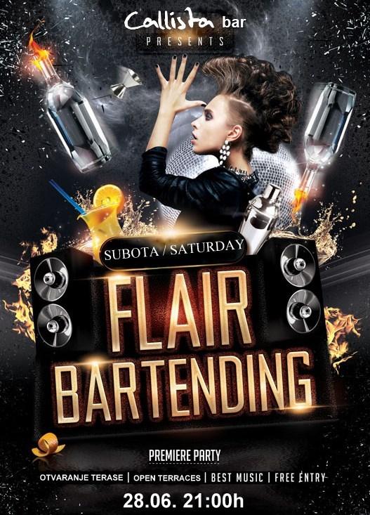 FIRE &FLAIR Show u Callista Baru !