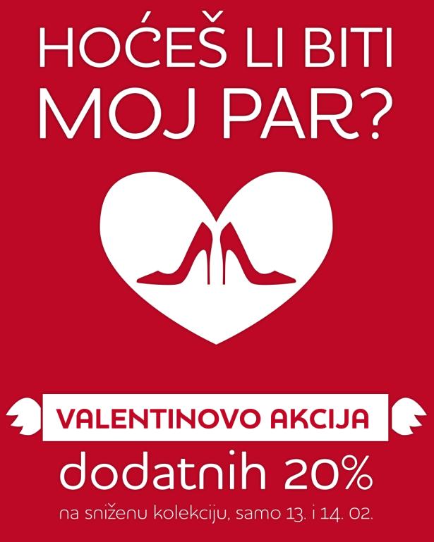 Za ovo Valentinovo vam poklanjamo najbolji dar - popust u Karli !
