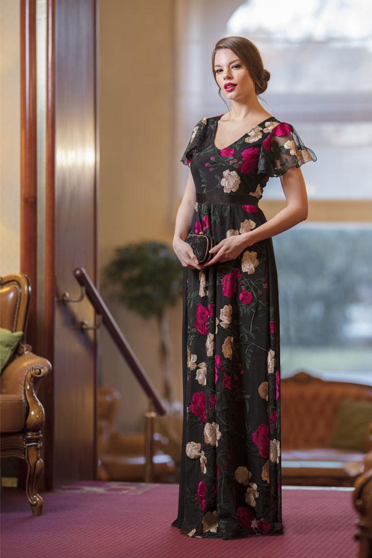16-Haljina duga cvijetovi ciklama