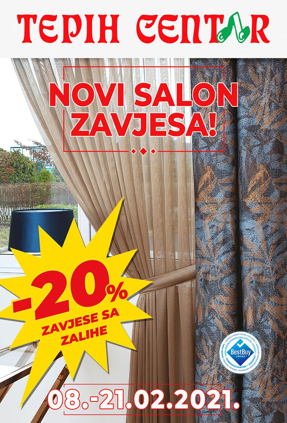 Zadar zavjese - citylight 118,5 x 175cm